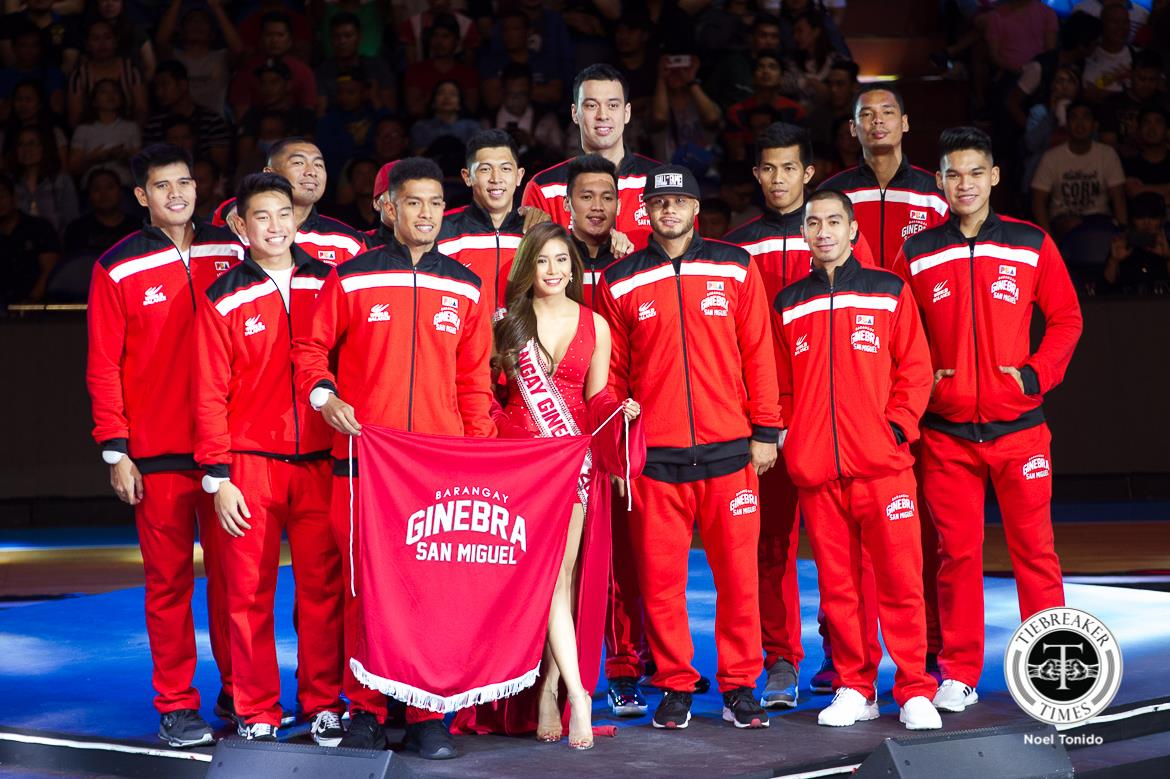 Philippine Sports News - Tiebreaker Times From courtside reporter to muse, Myrtle Sarrosa continues to fulfill childhood dream News PBA  Scottie Thompson PBA Season 43 2017-18 PBA Philippine Cup