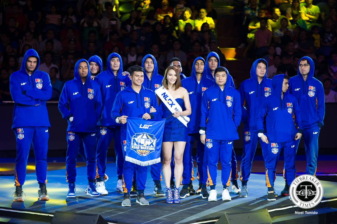 PBA-Season-43-Opening-Ceremony-NLEX-Road-Warriors Rachel Daquis continues to prefer volleyball over muse duties News PBA PSL Volleyball  - philippine sports news