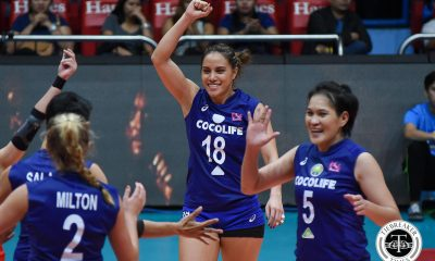 Tiebreaker Times Cocolife breaks into maiden semis appearance News PSL Volleyball  Tina Salak Taylor Milton Tai Manu-Olevao Royse Tubino Kungfu Reyes Janine Marciano George Pascua Denden Lazaro Cocolife Asset Managers Cignal HD Spikers Chooks-to-Go 2017 PSL Season 2017 PSL Grand Prix