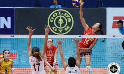 Tiebreaker Times F2 Logistics cruises to semis, sends Iriga City packing News PSL Volleyball  Tamara Kmezic Ramil De Jesus Parley Tupas Maria Jose Perez Kim Fajardo Kennedy Bryan Iriga City Lady Oragons F2 Logistics Cargo Movers Dawn Macandili Chooks-to-Go 2017 PSL Season 2017 PSL Grand Prix