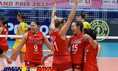 Tiebreaker Times How all imports in the PSL Finals are connected News PSL Volleyball  Petron Blaze Spikers Maria Jose Perez Lindsay Stalzer Kennedy Bryan Hillary Hurley F2 Logistics Cargo Movers 2017 PSL Season 2017 PSL Grand Prix