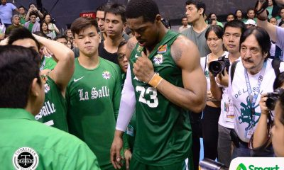 Tiebreaker Times Ben Mbala talks about why he did not take final year in La Salle Basketball DLSU News UAAP  UAAP Season 80 Men's Basketball UAAP Season 80 DLSU Men's Basketball Ben Mbala