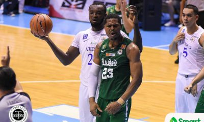 Tiebreaker Times Ben Mbala on Aldin Ayo's transfer: 'If he's happy with his new team, then so be it' Basketball DLSU News  DLSU Men's Basketball Ben Mbala Aldin Ayo 2018 Terrific 12 2018 Asia League