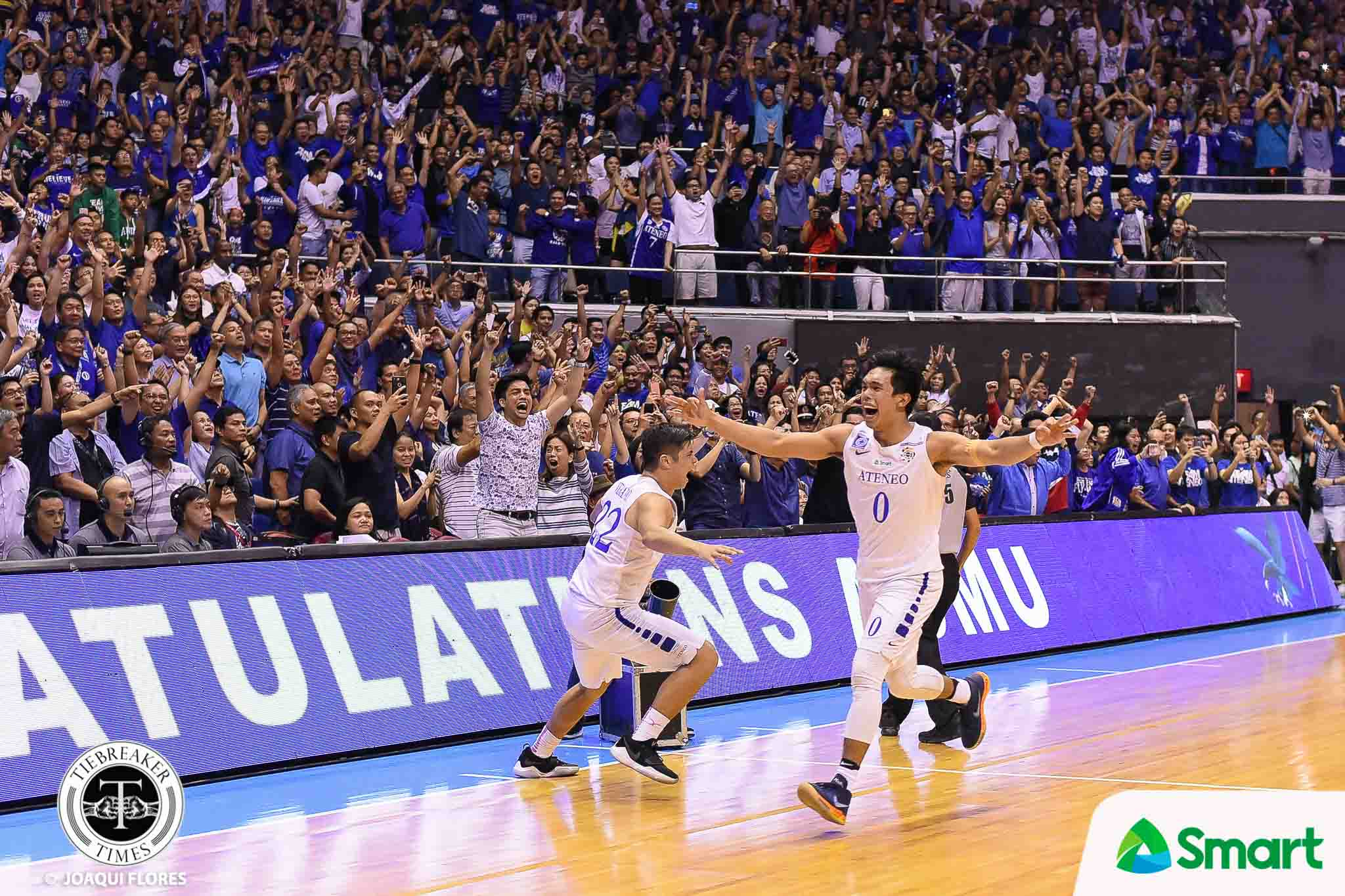 Tiebreaker Times Thirdy Ravena shares Finals MVP crown to teammates ADMU Basketball News UAAP  UAAP Season 80 Men's Basketball UAAP Season 80 Thirdy Ravena Ateneo Men' Basketball