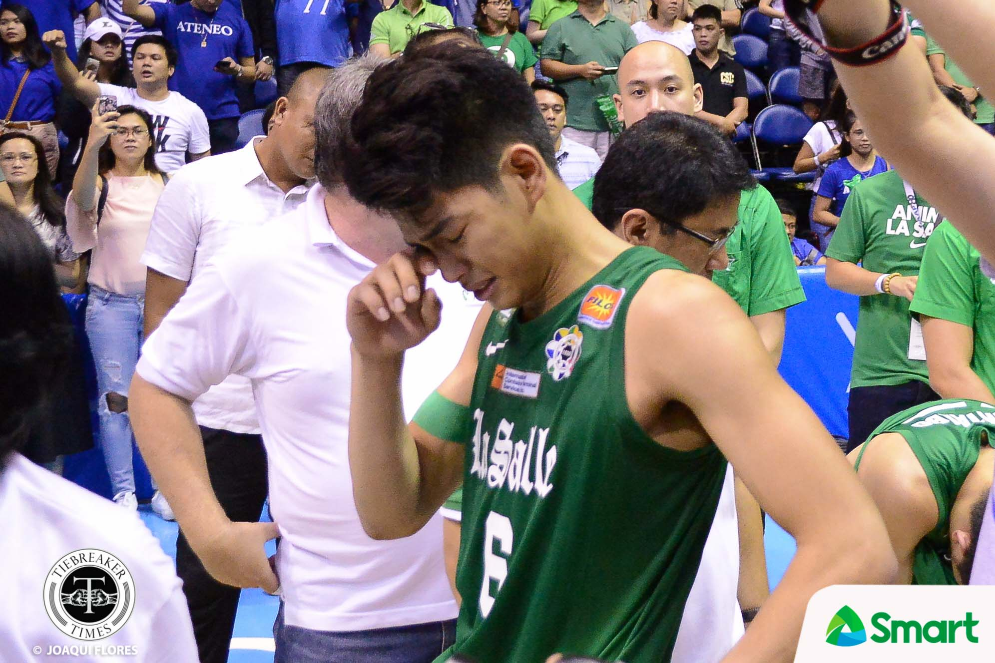 Tiebreaker Times Ricci Rivero remains thankful even after receiving jeers from La Salle Basketball News UAAP UP  UP Men's Basketball UAAP Season 82 Men's Basketball UAAP Season 82 Ricci Rivero