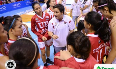 Tiebreaker Times Graduating seniors, Aileen Lebornio laud valiant UE after Finals loss to NU Basketball News UAAP UE  UE Women's Basketball UAAP Season 80 Women's Basketball UAAP Season 80 Ruthlaine Tacula Love Sto. Domingo Eunique Chan Aileen Lebornio