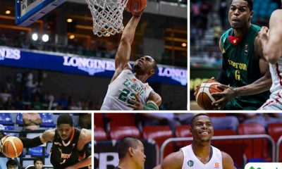 Tiebreaker Times More than Gold: Ben Mbala's rise from student-athlete to icon Basketball DLSU News UAAP  Yayoy Alcoseba UAAP Season 80 Men's Basketball UAAP Season 80 Ronnie Magsanoc Luigi Trillo Kib Montalbo Gabby Severino Ben Mbala Aldin Ayo