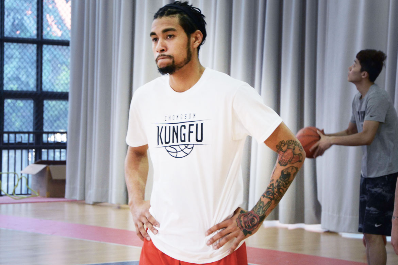Tiebreaker Times Chong Son Kungfu signs Fil-Am Mikhael McKinney to replace Jonathan Bermillo ABL Basketball News  Mikhael McKinney Kung Fu Nanhai Basketball Club Jonathan Bermillo 2017-18 ABL Season