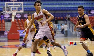 Tiebreaker Times Andoy Estrella, Leo Gabo choose to play in MPBL instead of Mila's Lechon Basketball News PBA D-League  ricardo Mila's Lechon Mighty Roasters Leo Gabo Jesse Ricardo Andrew Estrella 2018 PBA D-League Season 2018 PBA D-League Aspirants Cup