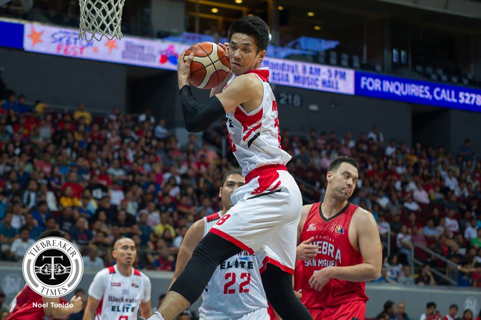 Philippine Sports News - Tiebreaker Times With league on notice, Allein Maliksi willing to do whatever it takes to lead Blackwater Basketball News PBA  PBA Season 43 Blackwater Elite Allein Maliksi 2017-18 PBA Philippine Cup