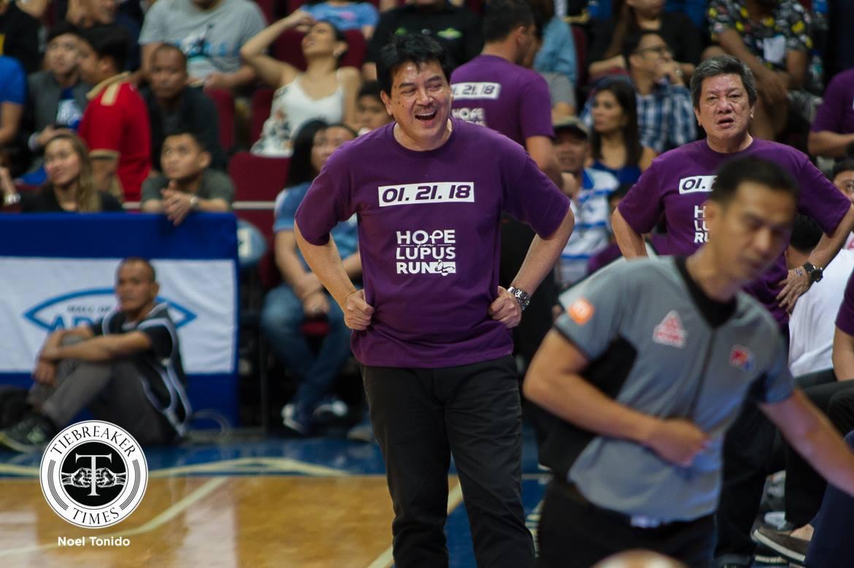 Philippine Sports News - Tiebreaker Times Blackwater dedicates win to Lupus patients Basketball News PBA  PBA Season 43 Mac Belo Leo Isaac Blackwater Elite 2017-18 PBA Philippine Cup