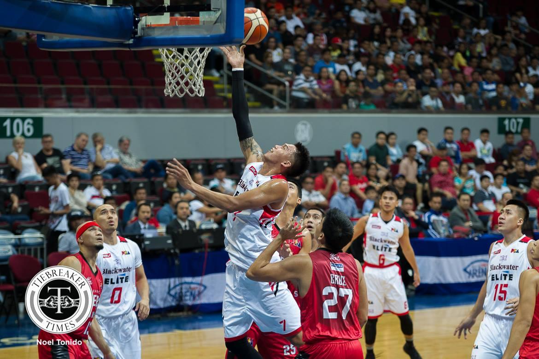 Philippine Sports News - Tiebreaker Times JP Erram believes this batch of Elite more aggressive than year's past Basketball News PBA  PBA Season 43 JP Erram Blackwater Elite 2017-18 PBA Philippine Cup