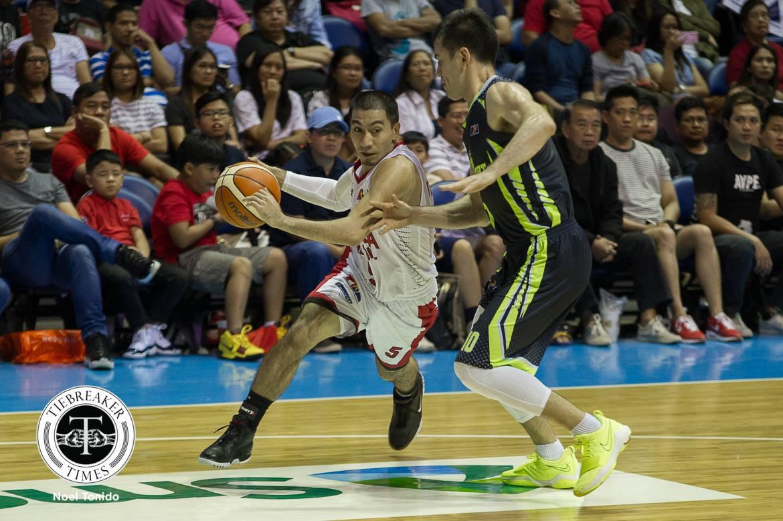 Philippine Sports News - Tiebreaker Times LA Tenorio surpasses Gerry Esplana to be in Top 15 of assist leaders Basketball News PBA  PBA Season 43 LA Tenorio Barangay Ginebra San Miguel 2017-18 PBA Philippine Cup