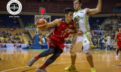 Tiebreaker Times GlobalPort thrashes tired Blackwater for second straight win Basketball News PBA  Stanley Pringle Sean Anthony PBA Season 43 Mike DiGregorio Mac Belo Kelly Nabong Globalport Batang Pier Blackwater Elite 2017-18 PBA Philippine Cup