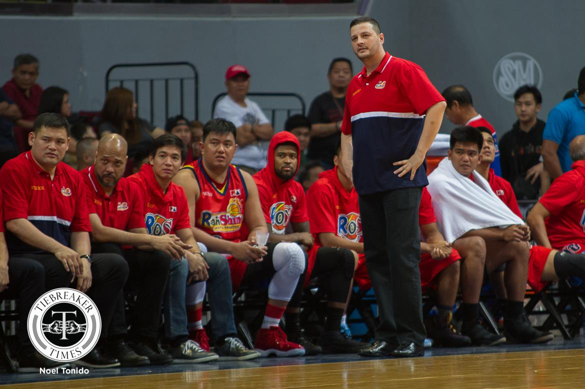 Philippine Sports News - Tiebreaker Times Caloy Garcia on back-to-back losses: 'We're not performing the way we like' Basketball News PBA  Rain or Shine Elasto Painters PBA Season 43 Caloy Garcia 2017-18 PBA Philippine Cup