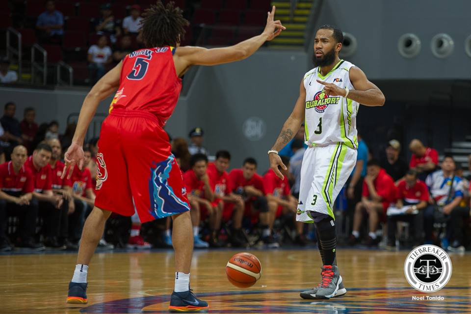 Philippine Sports News - Tiebreaker Times No time to celebrate for GlobalPort even after breakthrough win, says Stanley Pringle Basketball News PBA  Stanley Pringle Pido Jarencio PBA Season 43 Globalport Batang Pier 2017-18 PBA Philippine Cup