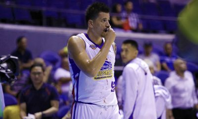 Tiebreaker Times Marc Pingris shrugs off busted lip: 'Part naman ng game yun' Basketball News PBA  PBA Season 43 Marc Pingris Magnolia Hotshots 2017-18 PBA Philippine Cup