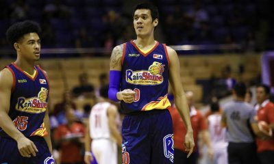 Tiebreaker Times Raymond Almazan's return Rain or Shine delayed due to ankle sprain Basketball News PBA  Raymond Almazan Rain or Shine Elasto Painters PBA Season 44 2019 PBA Philippine Cup