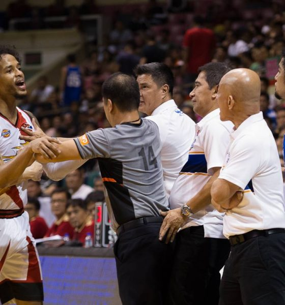 Tiebreaker Times Despite old spat, Yeng Guiao glad to hear Chris Ross volunteering himself for Gilas 2019 FIBA World Cup Qualifiers Basketball Gilas Pilipinas News  Yeng Guiao Gilas Pilipinas Men Chris Ross 2019 FIBA World Cup