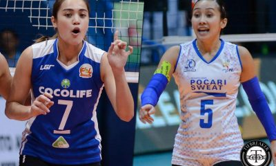 Philippine Sports News - Tiebreaker Times Creamline beefs up with Michele Gumabao, Melissa Gohing News PVL Volleyball  Michele Gumabao Melissa Gohing Creamline Cool Smashers 2018 PVL Season