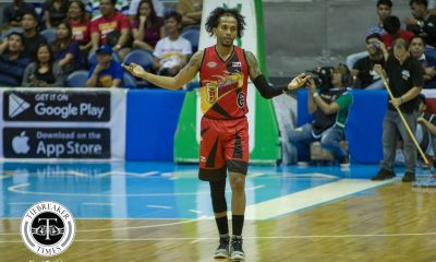 Tiebreaker Times Nothing to worry about as Chris Ross assures he's all set for Game Two Basketball News PBA  San Miguel Beermen PBA Season 43 Chris Ross 2018 PBA Commissioners Cup