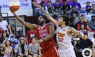 Tiebreaker Times Renaldo Balkman's 20-20 game powers Alab in road win against Saigon ABL Alab Pilipinas Basketball News  Saigon Heat Renaldo Balkman Moses Morgan Mikey Williams Maxie Esho Justin Brownlee Jimmy Alapag Akeem Scott 2017-18 ABL Season