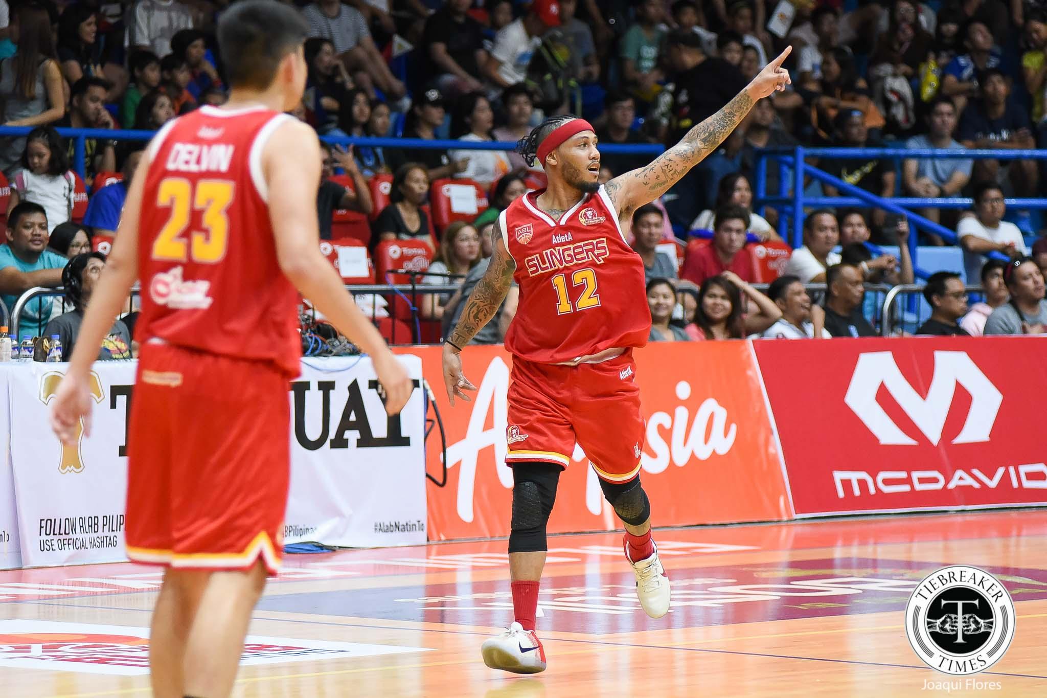 Philippine Sports News - Tiebreaker Times AJ Mandani turns Alab home game into his homecoming ABL Basketball News  Singapore Slingers AJ Mandani 2017-18 ABL Season