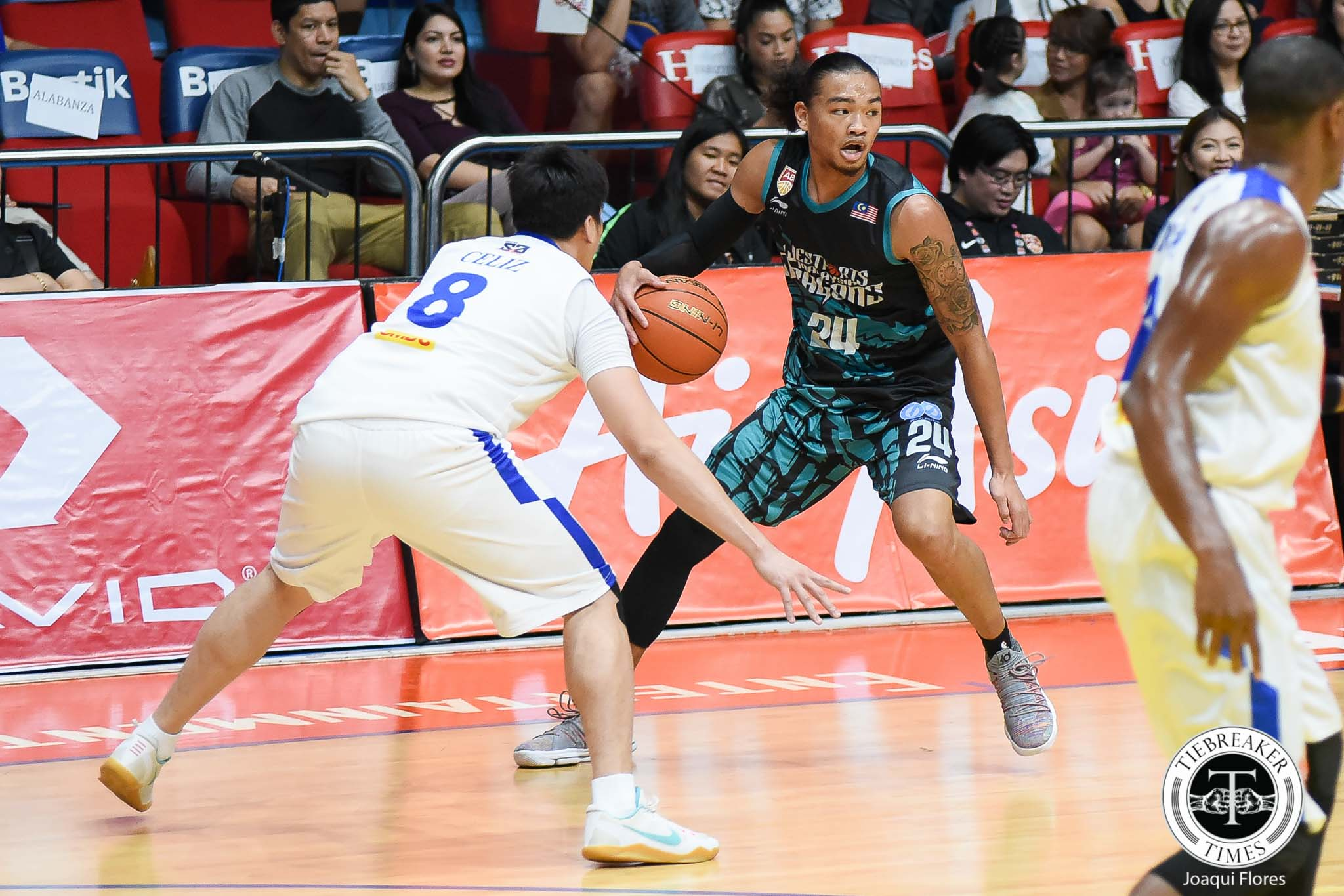 Philippine Sports News - Tiebreaker Times Joshua Munzon picks up first win since returning to Westsports ABL Basketball News  Westsports Malaysia Dragons Joshua Munzon Formosa Dreamers 2017-18 ABL Season