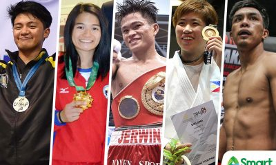 Philippine Sports News - Tiebreaker Times SMART Sports' Best of 2017: Pound for Pound Boxing Brazilian Jiu Jitsu Judo Mixed Martial Arts ONE Championship Taekwondo  UST Men's Taekwondo UAAP Season 80 Men's Taekwondo Team Lakay Rodolfo Reyes Jr Meggie Ochoa Mariya Takahashi Kiyomi Watanabe Kevin Belingon Jerwin Ancajas Annie Ramirez 2017 SEA Games - Taekwondo 2017 SEA Games - Judo 2017 Asian Indoor and Martial Arts Games