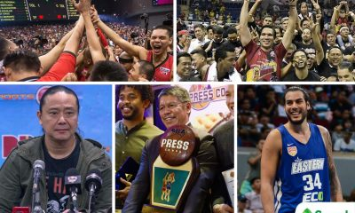 Tiebreaker Times SMART Sports' Best of 2017: San Miguel Corporation reigns supreme Basketball News PBA  Star Hotshots San Miguel Beermen PBA Season 42 Christian Standhardinger Barangay Ginebra San Miguel 2017 PBA Governors Cup 2017 PBA Commissioners Cup 2016-17 PBA All Filipino Cup