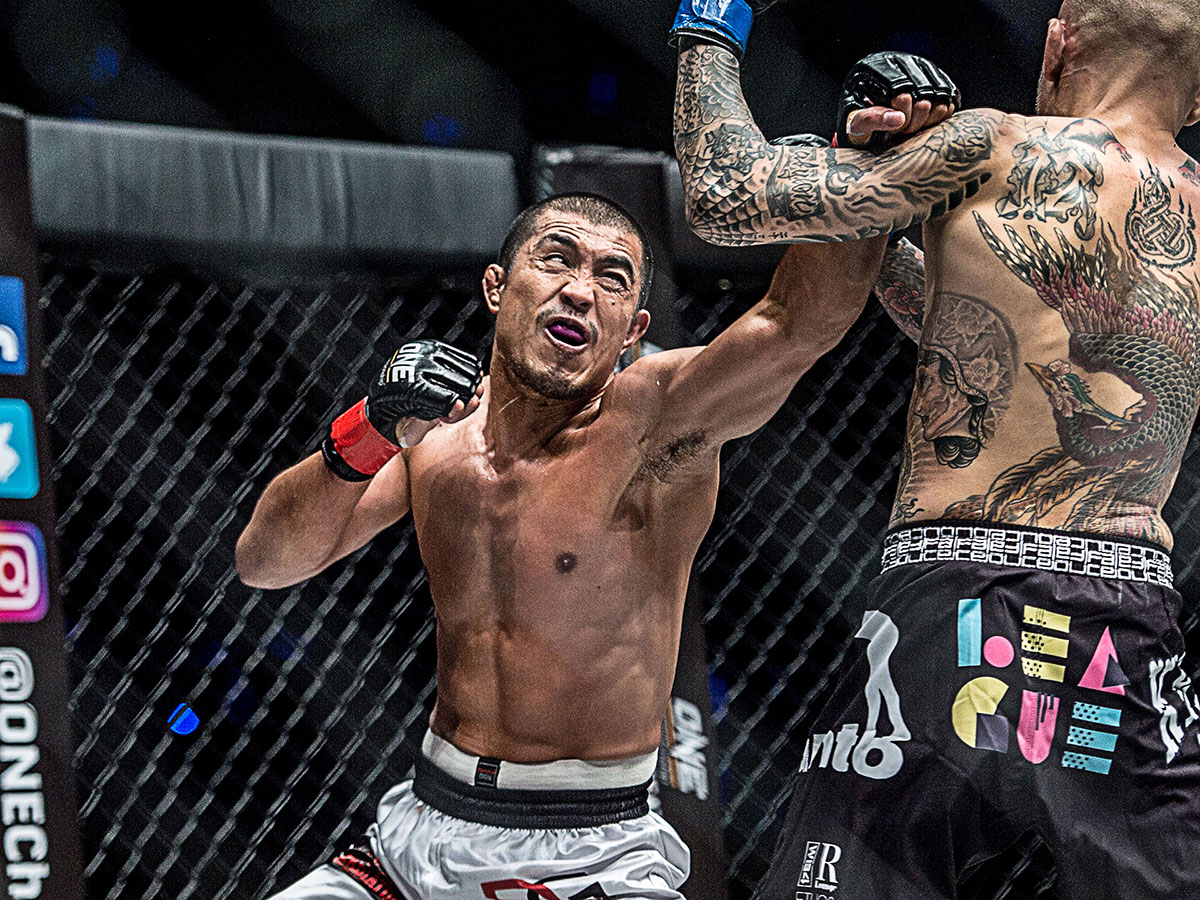 Tiebreaker Times Eric Kelly released by ONE Championship Mixed Martial Arts News ONE Championship  Eric Kelly