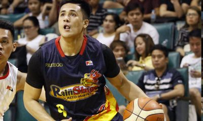 Philippine Sports News - Tiebreaker Times Returning Jericho Cruz believes complacency led to embarrassing loss to KIA Basketball News PBA  Rain or Shine Elasto Painters PBA Season 43 Jericho Cruz 2017-18 PBA Philippine Cup
