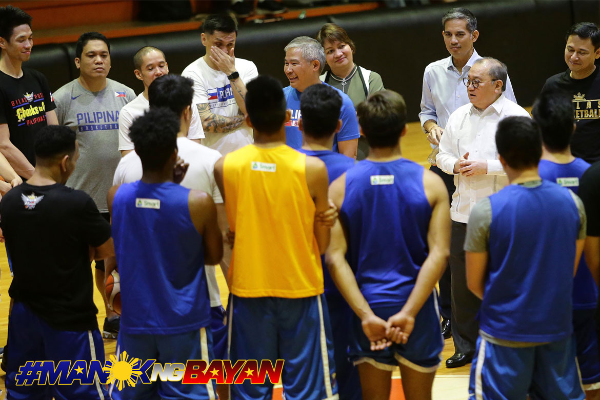 'Cream of Philippine basketball crop' gathers for year's first Gilas practice
