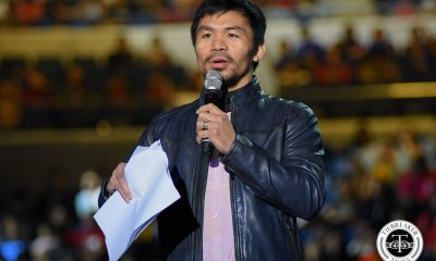 Tiebreaker Times Manny Pacquiao plans to make MPBL a true nationwide league Basketball MPBL News  Manny Pacquiao 2018 MPBL Raja Cup
