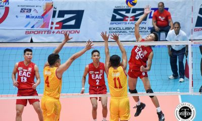 Tiebreaker Times Fresh Start: Generals blast Golden Stags in three EAC NCAA News SSC-R Volleyball  San Sebastian Men's Volleyball Rod Palmero NCAA Season 93 Men's Volleyball NCAA Season 93 Joshua Miña John Enano Jahir Ebrahim Earl Magadan EAC Men's Volleyball Clint Malazo