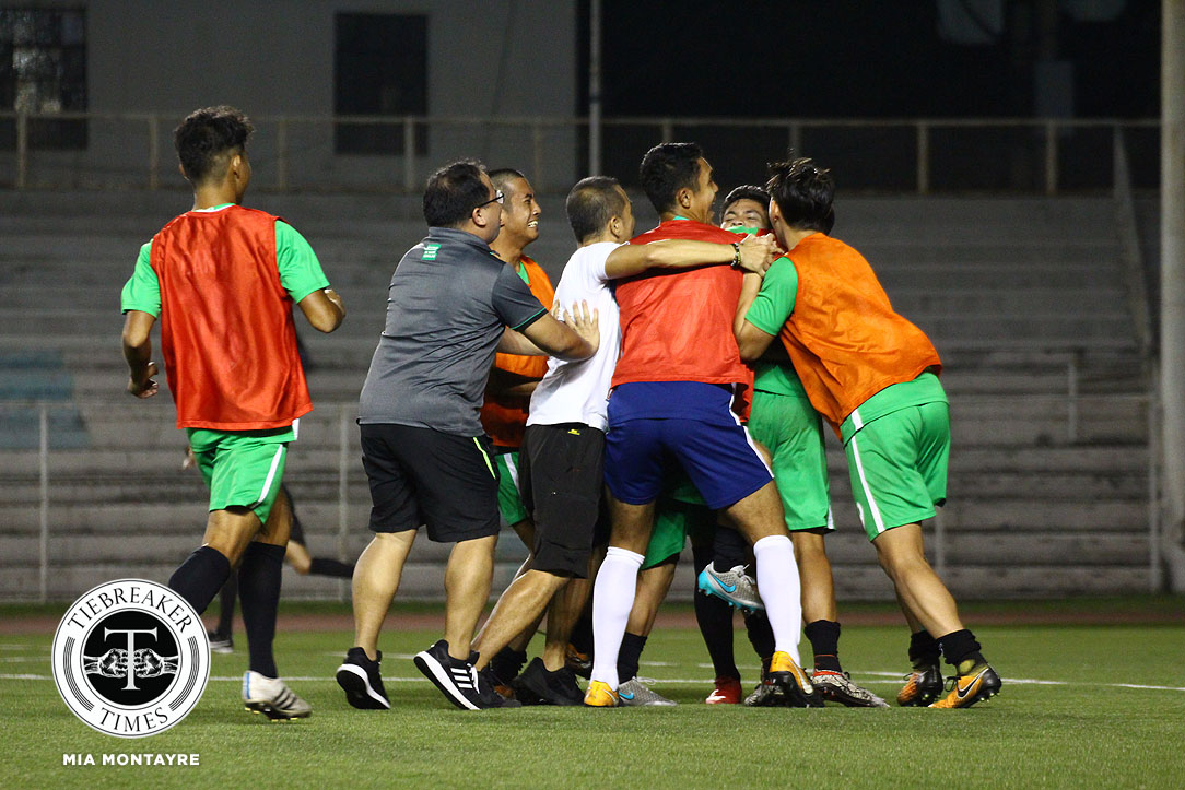 Tiebreaker Times 2018 was the year of Philippine Football CSB DLSU Football NCAA News PFF Women's League Philippine Azkals Philippine Malditas UAAP UP  UP Men's Football Neil Etheridge NCAA Season 93 Seniors Football NCAA Season 93 DLSU Women's Football Ceres-Negros FC Benilde Seniors Football 2019 AFC Asian Cup 2018 PFL Season 2018 PFL Copa Paulino Alcantara 2018 AFC Women's Asian Cup
