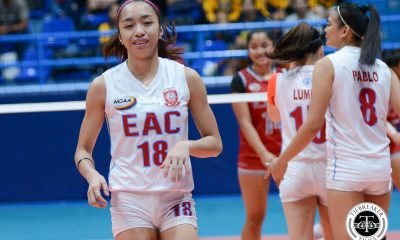 Tiebreaker Times Lady Generals survive Lady Pirates comeback for second victory EAC LPU NCAA News Volleyball  Yvonne Tasis Yvette Tongco Rod Palmero NCAA Season 93 Women's Volleyball NCAA Season 93 Lyceum Women's Volleyball Ladeisheen Magbanua Jayme Lumbo Glyka Medina Emil Lontoc EAC Women's Volleyball Crislie Pablo Bien Juanillo Aira Binondo