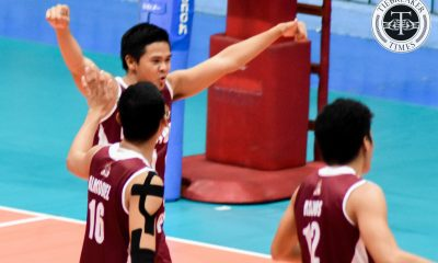 Tiebreaker Times Altas remain undefeated, sweep Golden Stags NCAA News SSC-R UPHSD  Warren Catipay San Sebastian Men's Volleyball Sammy Acaylar Rey Taneo PJ Ramos Perpetual Men's Volleyball NCAA Season 93 Men's Volleyball NCAA Season 93 Jahir Ebrahim Jack Kalingking Clint Malazo