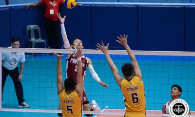 Tiebreaker Times Perpetual cruises to 4th straight win; Mapua outlasts JRU JRU LPU MIT NCAA News UPHSD Volleyball  Sammy Acaylar Ryan Dela Paz Raje Hizon Perpetual Men's Volleyball Paul Dolorias Patrick Rabaja NCAA Season 94 Men's Volleyball NCAA Season 94 Mark Egan Mapua Men's Volleyball Lyceum Men's Volleyball Louie Ramirez Karl Tabios Juvic Colonia June Laxina JRU Men's Volleyball Gilbert Balmores Gabriel Casana Emil Lontoc Beneth Abellada Arjay Ausina