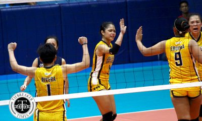Tiebreaker Times JRU rallies historic win over San Sebastian JRU NCAA News SSC-R Volleyball  Shola Alvarez San Sebastian Women's Volleyball Roger Gorayeb Nikka Dalisay NCAA Season 93 Women's Volleyball NCAA Season 93 Mia Teoseco Marcy Rivera Mapua Women's Volleyball Joyce Sta. Rita Dolly Versoza Annia Macaraya