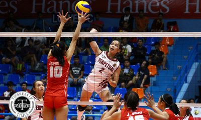 Tiebreaker Times Perpetual escapes upset-hungry EAC EAC NCAA News UPHSD Volleyball  Rod Palmero Perpetual Women's Volleyball Necelle Gual NCAA Season 93 Women's Volleyball NCAA Season 93 Michael Carino Marijo Medalla Lourdes Clemente EAC Women's Volleyball Cindy Imbo Aira Binondo