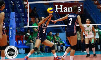 Tiebreaker Times Charm Simborio powers Letran past Mapua CSJL MIT NCAA News Volleyball  Paul Dolorias NCAA Season 93 Women's Volleyball NCAA Season 93 Michael Inoferio Mapua Women's Volleyball Manuela Larioque Letran Women's Volleyball Jela Pena Entezar Bangcola Elizza Abitan Charm Simborio