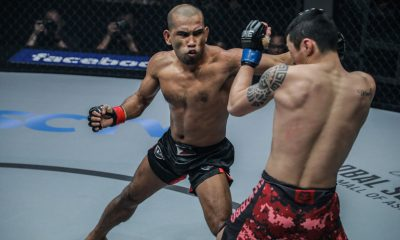 Philippine Sports News - Tiebreaker Times Rene Catalan continues rampage with TKO win Mixed Martial Arts News ONE Championship  Rene Catalan