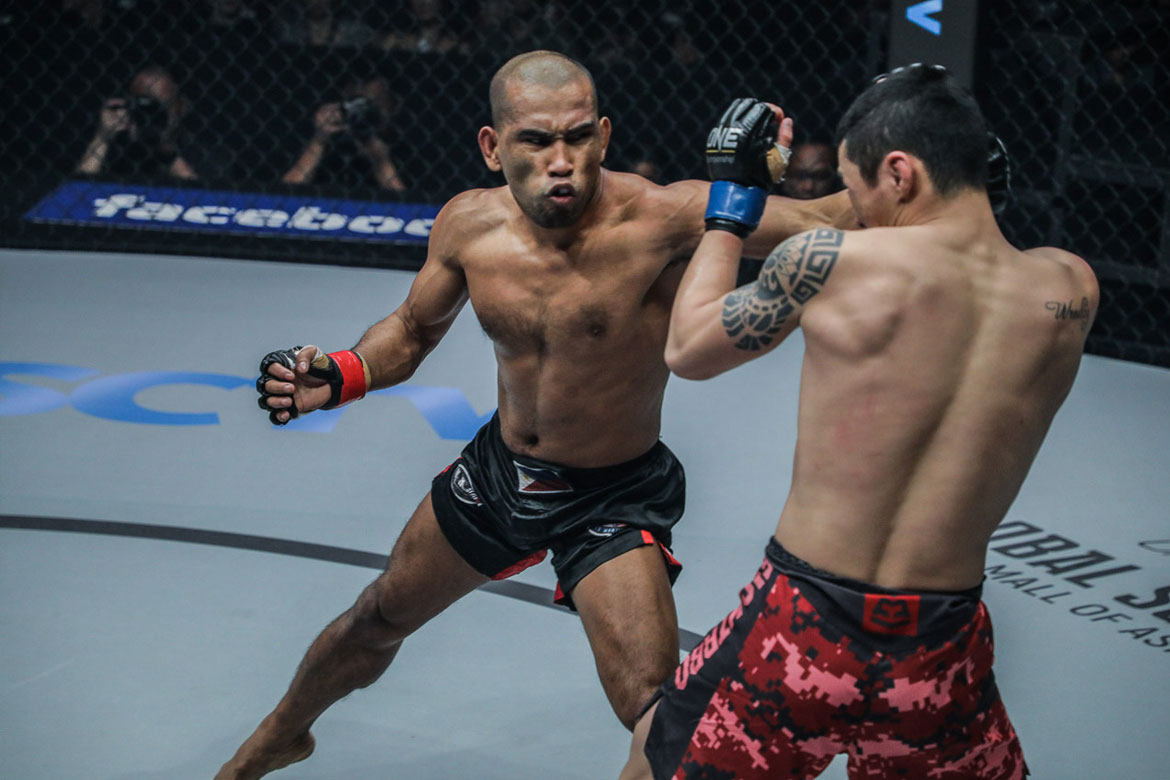 Tiebreaker Times Rene Catalan continues rampage with TKO win Mixed Martial Arts News ONE Championship  Rene Catalan