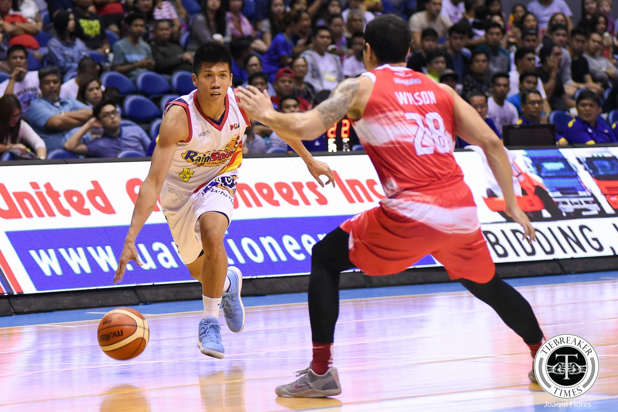 Tiebreaker Times Daquioag trade a result of Rain or Shine drafting good prospects, says Garcia Basketball News PBA  Vince Tolentino Rain or Shine Elasto Painters Prince Rivero PBA Season 45 Ed Daquioag Clint Doliguez Caloy Garcia Adrian Wong