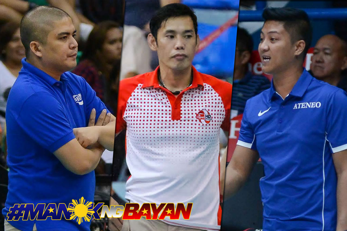 Tiebreaker Times New coaches banner Generika-Ayala, Sta. Lucia, Foton News PSL Volleyball  Sta. Lucia Lady Realtors Sherwin Meneses Rommel Abella George Pascua Generika Lifesavers Foton Tornadoes Chooks-to-Go 2018 PSL Season 2018 PSL Grand Prix