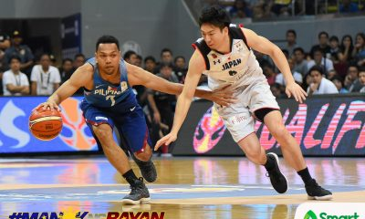 Tiebreaker Times Jayson Castro breaks Japan's hearts anew as Gilas enters next round 2019 FIBA World Cup Qualifiers Basketball Gilas Pilipinas News  Troy Rosario Makoto Hiejima Kiefer Ravena Julio Lamas Jayson Castro Japan (Basketball) Ira Brown Chot Reyes Andray Blatche 2019 FIBA World Cup Qualifiers Group B 2019 FIBA World Cup Qualifiers