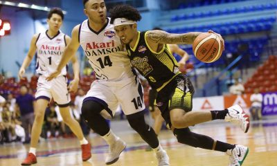 Tiebreaker Times 'PBA-ready' Trevis Jackson continues to prove doubters wrong Basketball News PBA D-League  Trevis Jackson Gamboa-St. Clare Coffee Lovers Franz Pumaren 2018 PBA D-League Season 2018 PBA D-League Aspirants Cup