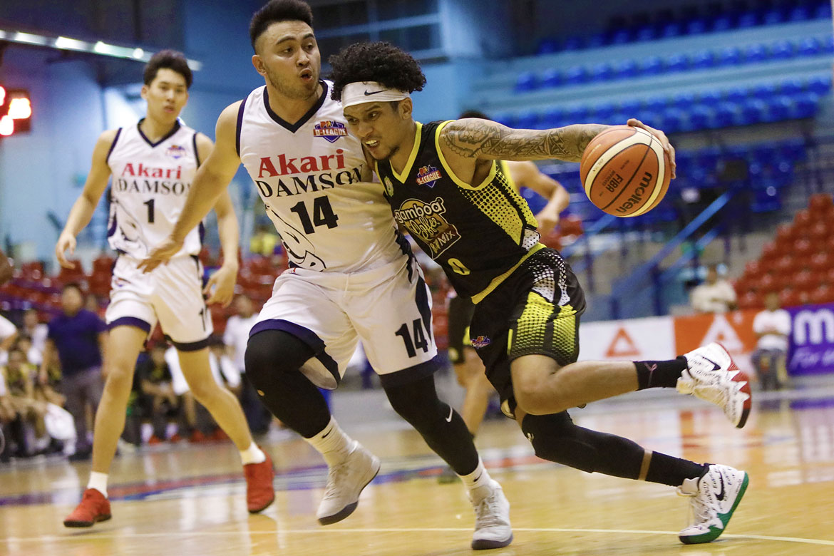 Philippine Sports News - Tiebreaker Times 'PBA-ready' Trevis Jackson continues to prove doubters wrong Basketball News PBA D-League  Trevis Jackson Gamboa-St. Clare Coffee Lovers Franz Pumaren 2018 PBA D-League Season 2018 PBA D-League Aspirants Cup