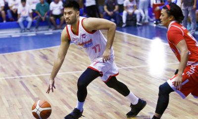 Tiebreaker Times Gab Banal, Marinerong Pilipino sink AMA for third straight win Basketball News PBA  Rian Ayonayon Philip Manalang Michael Canete Mark Herrera Marinerong Pilipino Koy Banal Kent Lao Gab Banal Arvin Tolentino AMA Online Education Titans 2018 PBA D-League Season 2018 PBA D-League Aspirants Cup